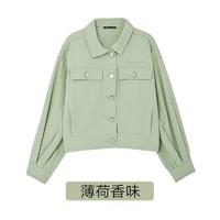 韩都衣舍 JZ14321 女士牛仔外套