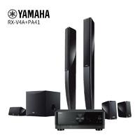 Yamaha 雅马哈 RX-V4A+NS-PA41 家用音响功放套装