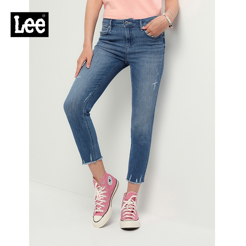 Lee LWS4334EQ72E 女士小脚牛仔裤
