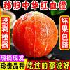 新鲜当季水果中华红血橙 大果(带箱2斤) *5件