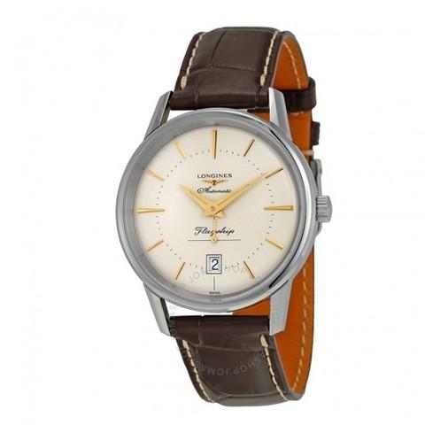 超值黑五、银联爆品日:LONGINES 浪琴 Heritage 经典复古系列 L4.795.4.78.2 男士机械腕表