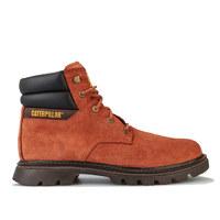 超值黑五、银联爆品日:Caterpillar 男士 Quadrate 高帮皮革靴