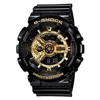 CASIO 卡西欧 GA-110GB-1A G-SHOCK 男士双显运动腕表
