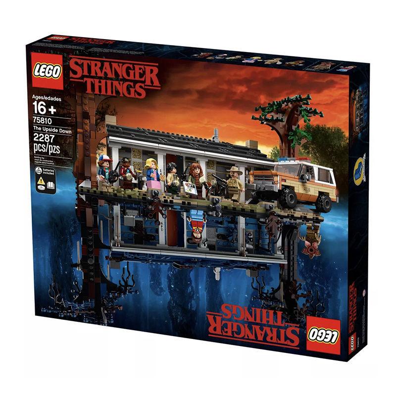 百亿补贴 : LEGO 乐高 75810 怪奇物语系列 颠倒世界 经典收藏版