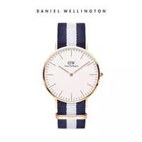 DanielWellington 丹尼尔惠灵顿 CLASSIC CAMBRIDGE系列 0104DW 玫瑰金色男士时装腕表