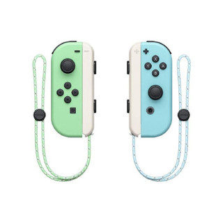 Nintendo 任天堂 Switch游戏主机 海外版系列 Switch续航版 游戏机 蓝绿色 日版