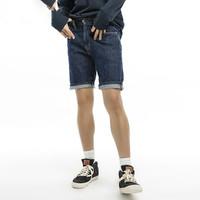 经典五袋款系列男士505标准直筒牛仔短裤
