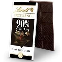 中亚Prime会员:Lindt 瑞士莲 Excellence 黑巧克力 3.5 盎司套装(12支装)