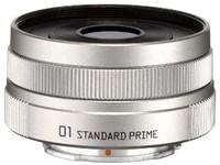 PENTAX 标准定焦镜头 01 STANDARD PRIME 银