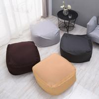 米良品 日式和风布艺懒人沙发 65*65*43cm
