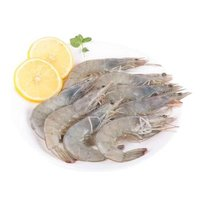 首食惠 活冻白虾 净重500g/盒 25-30只 *10件