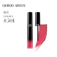 GIORGIO ARMANI 乔治·阿玛尼 黑管漆光唇釉 6ml #501