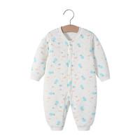 婴儿夹棉连体衣