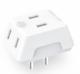 移动专享:PHILIPS 飞利浦 一转三插座转换器 4.9元包邮(需拼购,需用券)