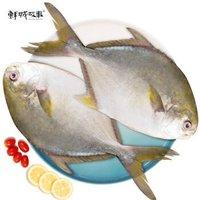 鲜城故事 速冻万山金鲳鱼 1kg *6件