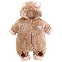 婴儿棉服连体衣
