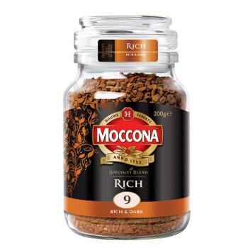 Moccona  摩可纳 特浓冻干速溶咖啡 200g *5件