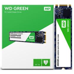 WD 西部数据 Green系列 480GB M.2接口(SATA协议) SSD固态硬盘