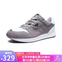 PONY跑步鞋波尼男女款运动鞋秋季新品复古慢跑鞋休闲耐磨情侣鞋93M1TB01 浅灰色(男) 39