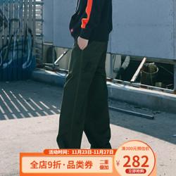 DickiesTC面料休闲裤男式秋季新品工装裤长裤子宽松DK008171 军绿色 028