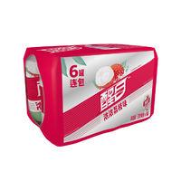 Coca-Cola 可口可乐 醒目 荔枝口味 330ml*6罐装
