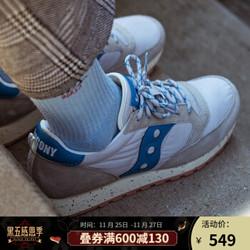 Saucony索康尼2020新品JAZZ CLIMBING复古跑鞋休闲鞋男鞋S70463 米卡基-6 40