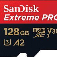 SanDisk Extreme 128 GB 微型 SDXC 存储卡 + SD 适配器 Prime会员免邮 含税162.71