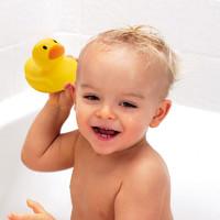 美国munchkin满趣健婴儿洗澡小黄鸭麦肯齐宝宝感温变色洗浴玩具