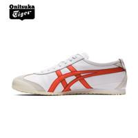 Onitsuka Tiger鬼塚虎男女鞋 复古休闲鞋MEXICO 66 1183A201-402预售 白色 39