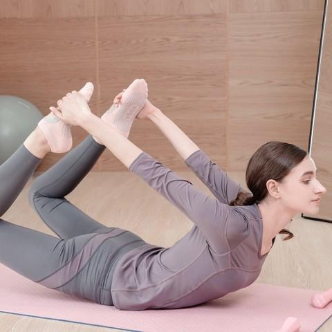 汐诗威 大码瑜伽服女秋款上衣短袖显瘦速干时尚运动健身房套装瑜珈服气质