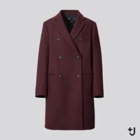 UNIQLO 优衣库 Jil Sander(+J)联名 435937 羊毛混纺大衣