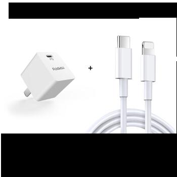 数码配件节 : RAGAU 睿高 mini 18W PD充电器+C2L充电线套装