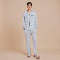 男式精梳棉针织家居服套装2.0