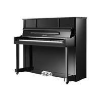 珠江钢琴(PEARLRIVER)里特米勒 Ritmiiller 高档专业立式德国钢琴 J1 黑色