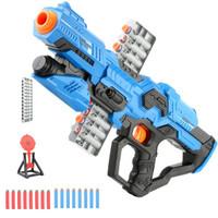 贝利雅 软弹吸盘枪 蓝色款