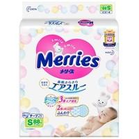 花王 Merries 妙而舒 婴儿纸尿裤 S88片