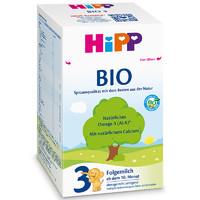 16点开始、移动端:HiPP 喜宝 益生元系列 婴幼儿配方奶粉 3段 600g *2件