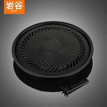 Iwatani 岩谷 CB-P-Y3 日本进口 韩式家庭圆形烤盘 +凑单品