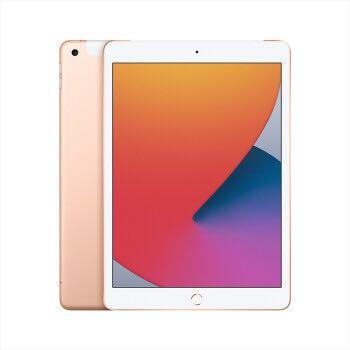 Apple 苹果 iPad 8 2020款 10.2英寸 平板电脑 金色 128GB WLAN
