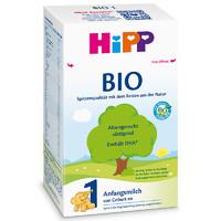 16点开始:HiPP 喜宝 婴儿配方奶粉 1段 600g