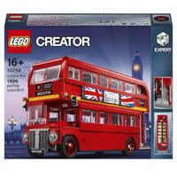 超值黑五、银联爆品日:LEGO 乐高 Creator 创意百变系列 10258 伦敦巴士