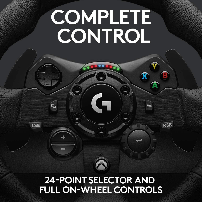 Logitech 罗技 G923 方向盘踏板 适用于 Playstation PS4 和 PC,TRUEFORCE