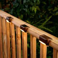 移动专享:卡沐森 太阳能栏杆楼梯灯户外防水 3个装