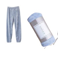 selumer 加厚珊瑚绒保暖裤 女 多色可选