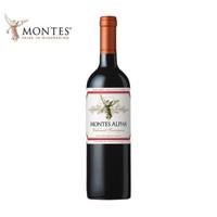 京东PLUS会员:montes 蒙特斯 欧法系列红葡萄酒 750ml *3件
