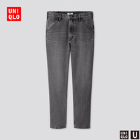 UNIQLO 优衣库 425778 男士宽腿窄口牛仔裤