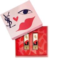 YVES SAINT LAURENT 圣罗兰 红唇啵普胶囊系列红唇啵普限量礼盒 2件套(#110橙红色+#120柿红色)