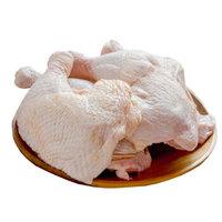 百年栗园 土鸡鸡全腿 1000g/袋 烧烤食材烤全腿 *10件