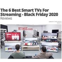 RTINGS 2020黑五 最佳流媒体智能电视排行榜