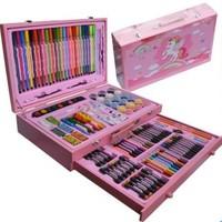 Art McBee 麦卡比  美术礼盒  粉色实木130卡通绘画套装